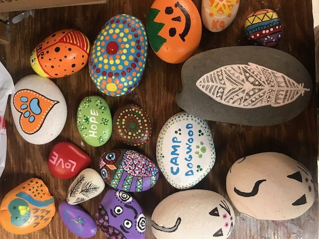 COVER Kindness rock pile